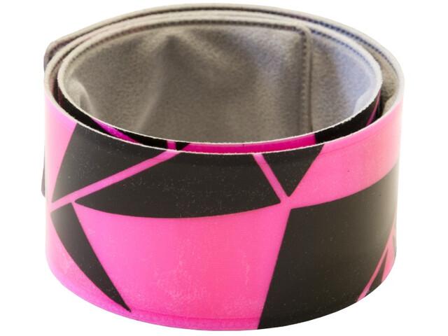Wowow Urban Snap Wrap käsivarsi-/jalkanauhaheijastin 40x3cm, pink